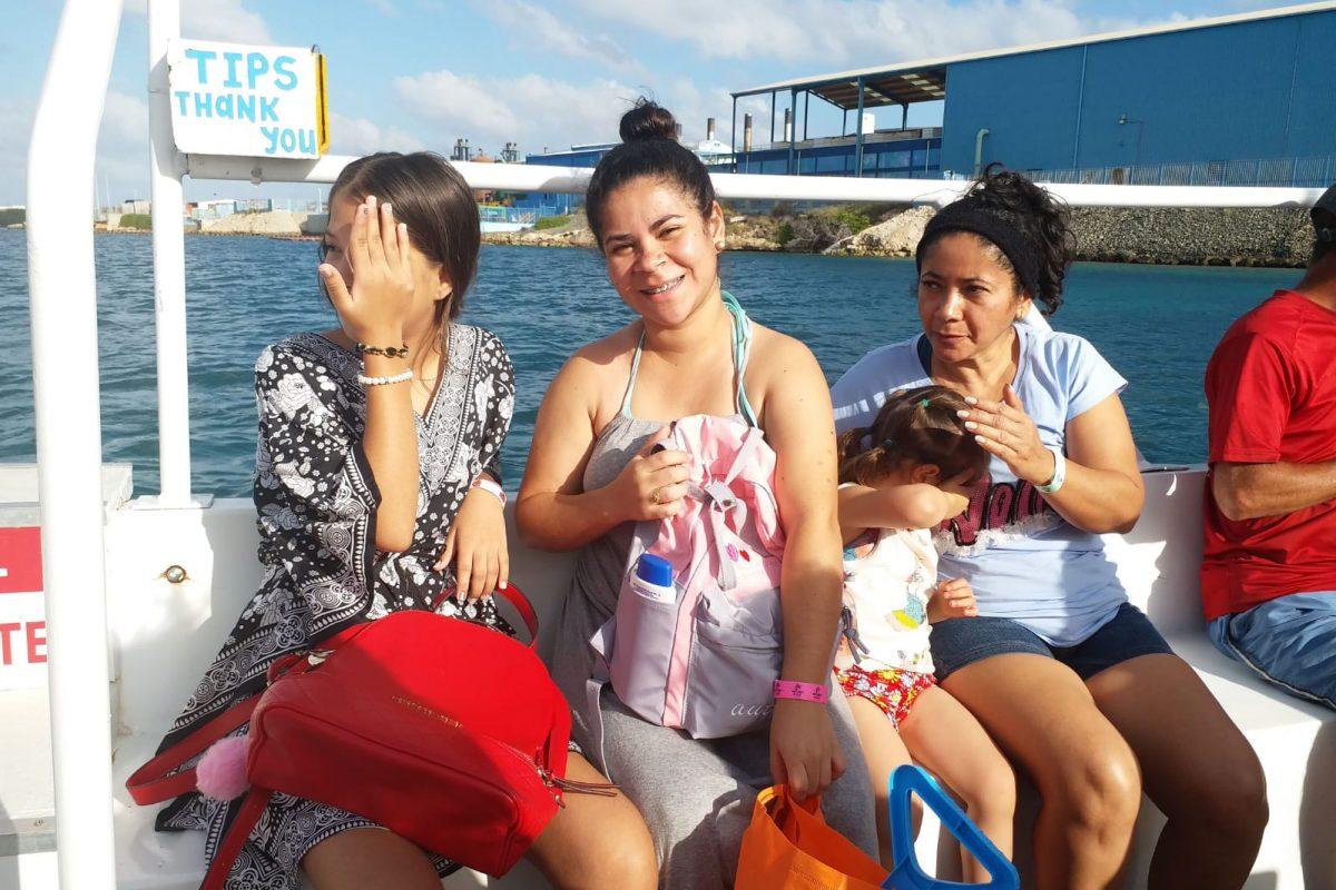 Boat to Palm Island Aruba